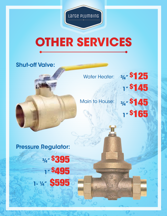 Other Water Heater Services