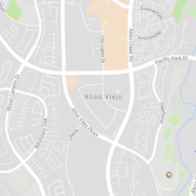 Aliso Viejo Map