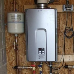 tankless water heater install - Tankless Water Heater Installation