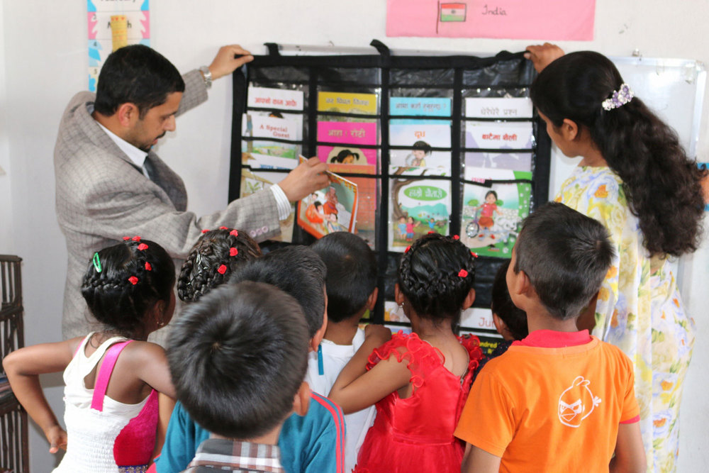 KISC EQUP   EQUIP donates classroom libraries to a number of partner schools in Kathmandu, Palpa, Nuwakot and Lamjung.