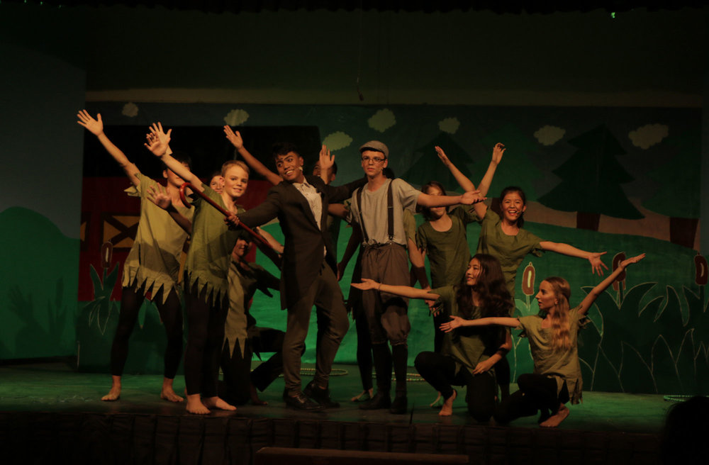KISC   KISC students put on a production of a Broadway musical Honk Jr. at the end of September.