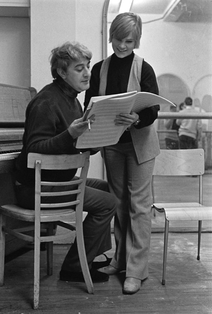 Kenneth MacMillan with Monica Parker