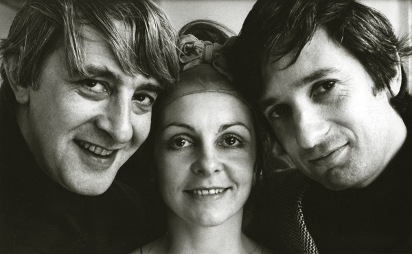 Kenneth MacMillan, Lynn Seymour and Barry Kay 1967