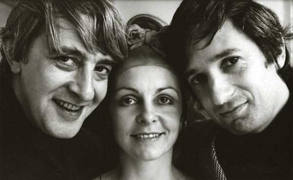 Kenneth MacMillan, Lynn Seymour and Barry Kay 1967