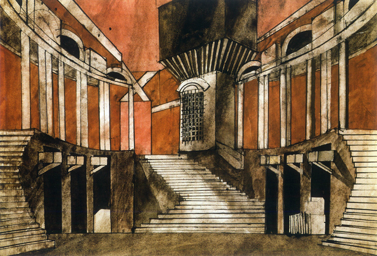 ©The Nicholas Georgiadis Estate design for Romeo and Juliet 1965