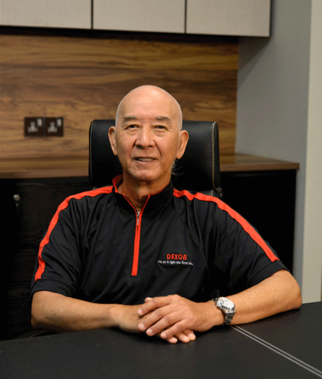 Founder of Dexon - Mr. Goh Keng Seng