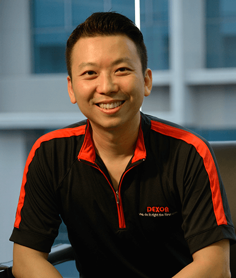 Managing Director of Dexon - Ir. Dexter Goh