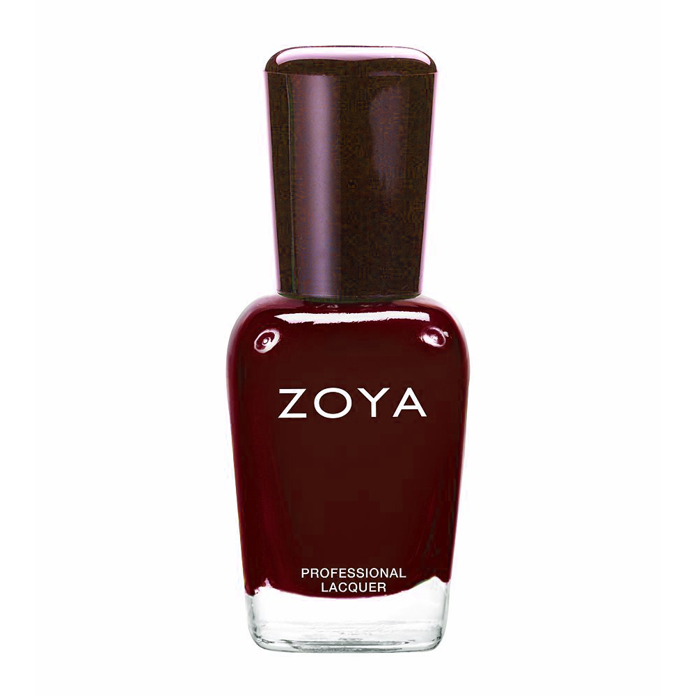 zoya polish red