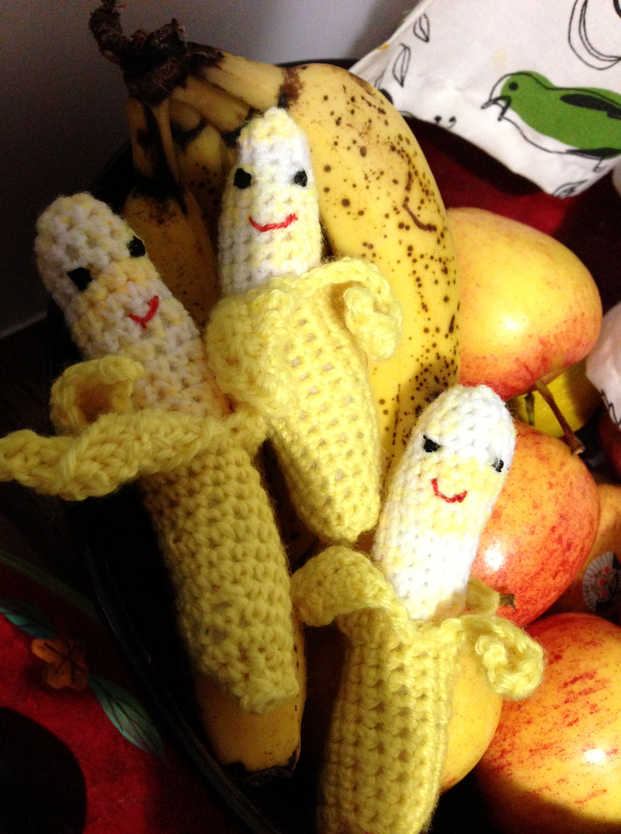 Just some cheeky bananas I made for a friend's son's birthday