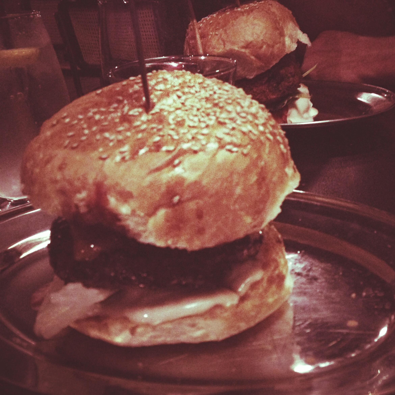 Burger heaven.