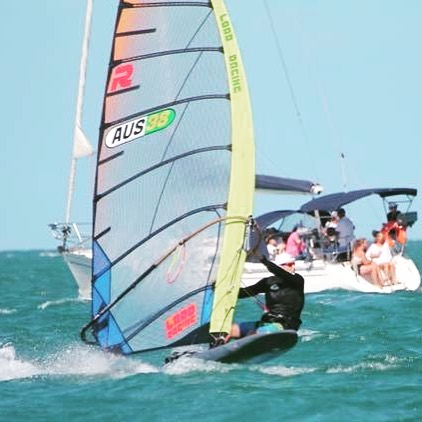 Justin Lord #lordracing #raceboardwindsurfing #hiwind #australiannationals #windsurfing #exocetoriginal #rs380elite @windsurfingreligion