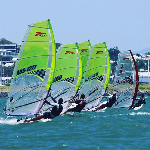 The future! Australian #techno champions #windsurfing #raceboardwindsurfing #bictechno293