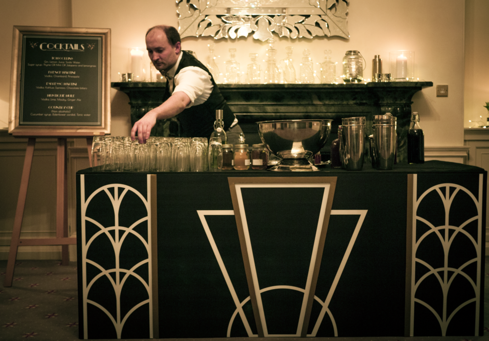 Art Deco Bar Design #15: Wilma-event-design-art-deco-wedding-bar