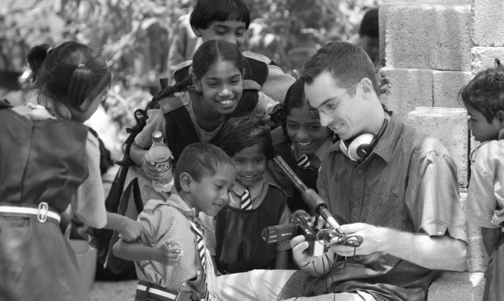 Tony in India