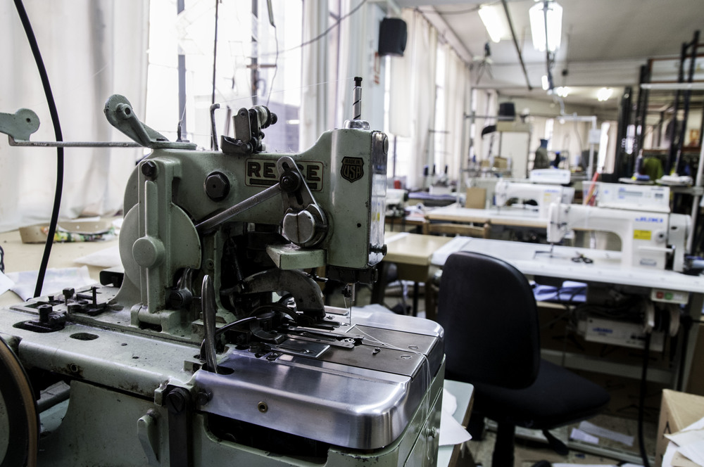 Sewing machines for samples or production