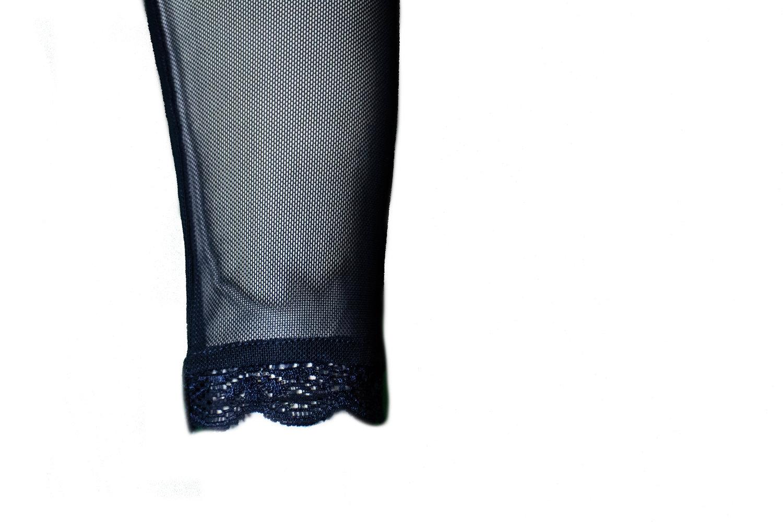 3958a2c7fee03 Sandz Navy. 35.00. Micro mesh detachable add on sleeves ...