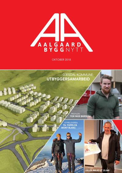 Aalgaard Byggnytt / Oktober 2018