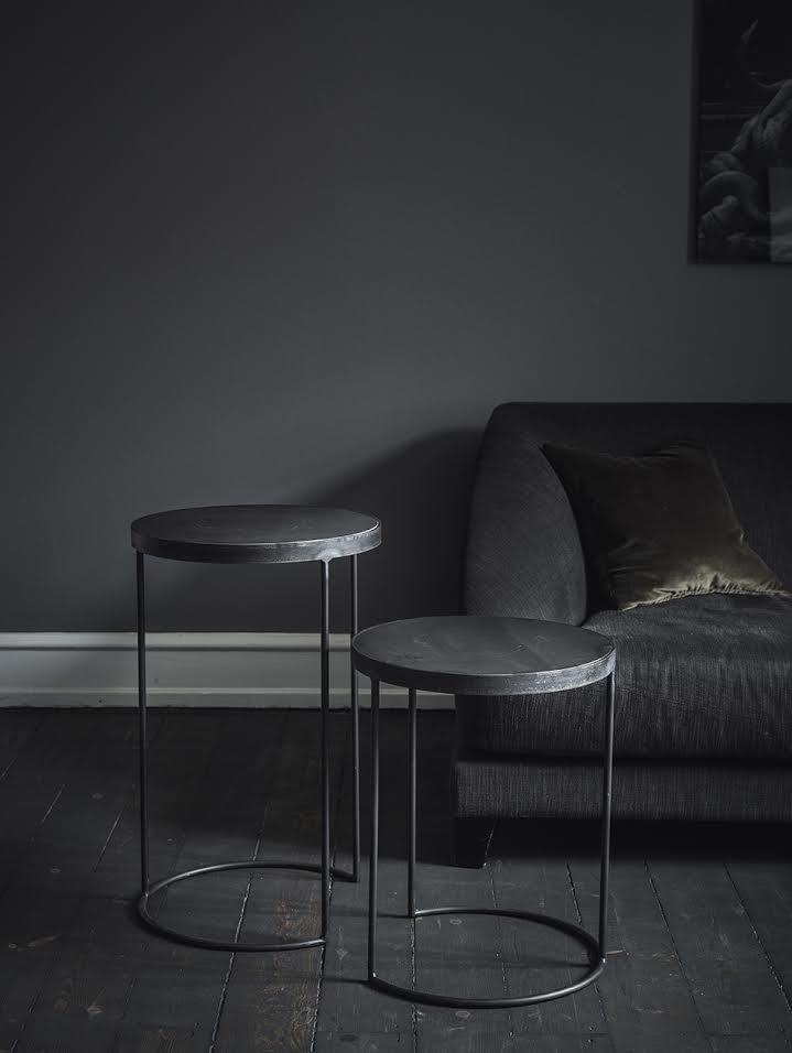 Arrondissement Copenhagen Circle Iron Side Tables