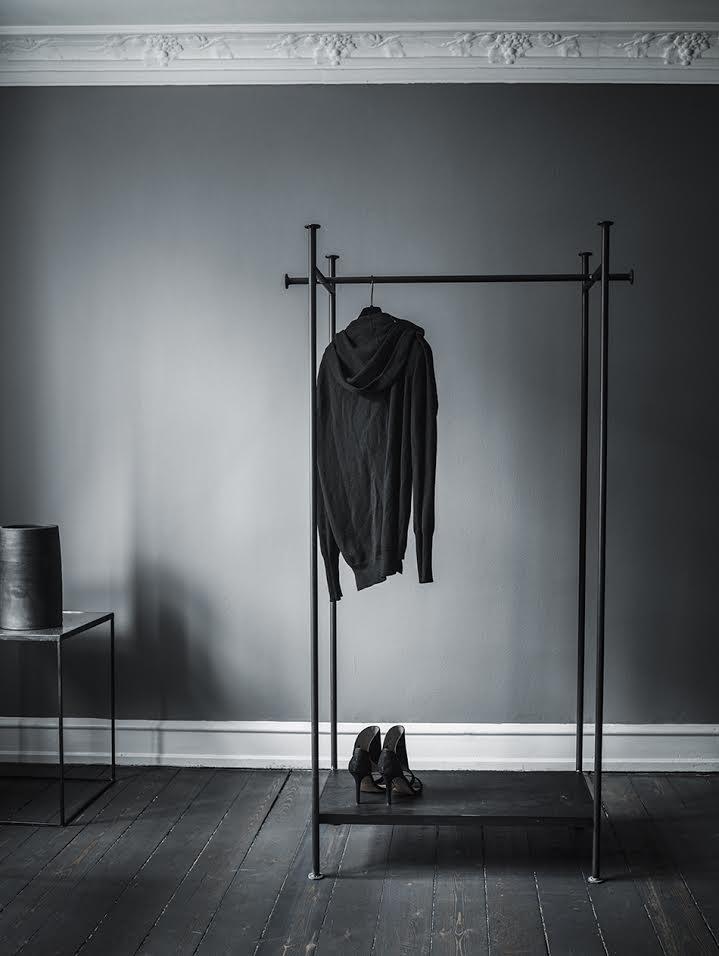 Arrondissement Copenhagen Iron Clothing Rack