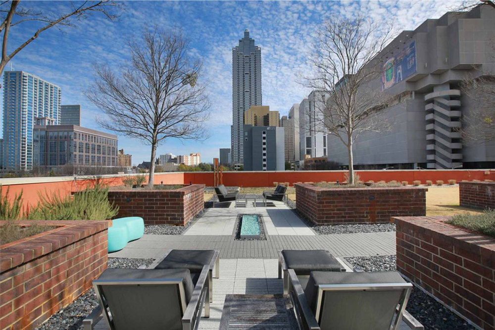 CONDO AMENITIES - Everything needed for an upscale residences in the Heart of Downtown Altlanta