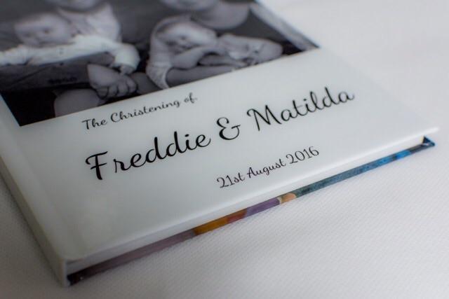 Quality family photobook. Freddie & Matilda's christening.