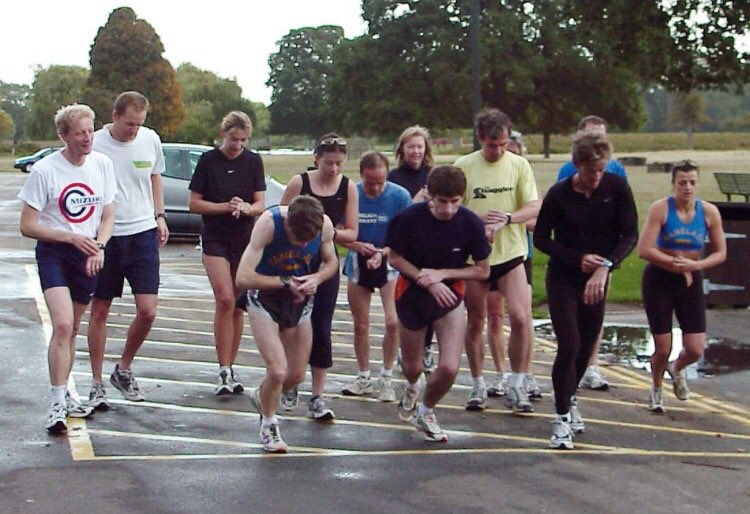 The first Parkrun. 12 years ago in Bushey Park......