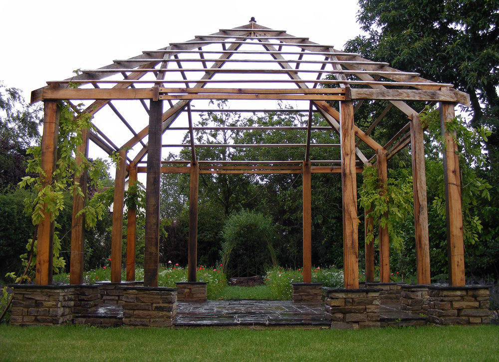 Green Oak Gazebo, Briarcroft, Stockton Upon Tees