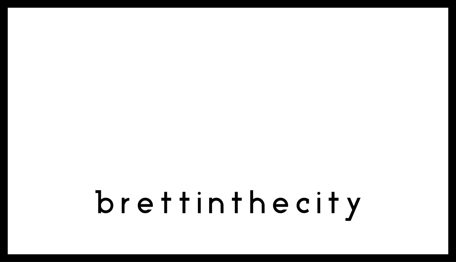 brettinthecity - Video production in Sheffield & the UK