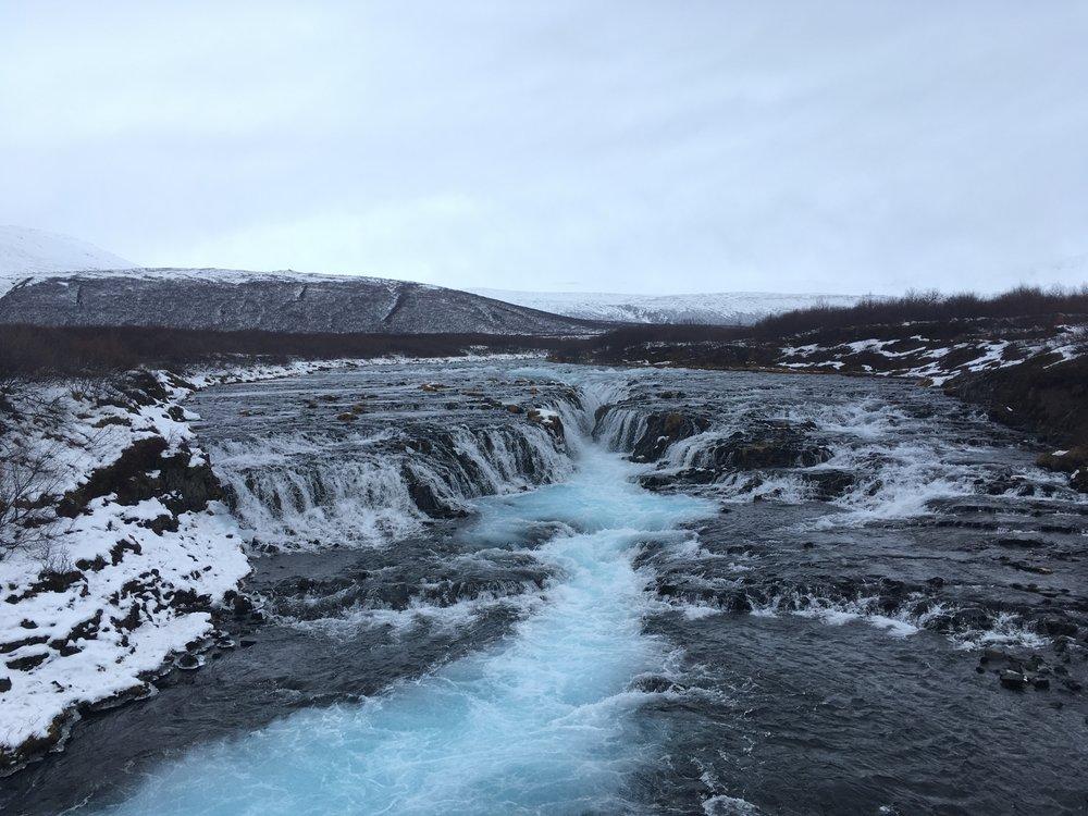 Bruarfoss, Iceland