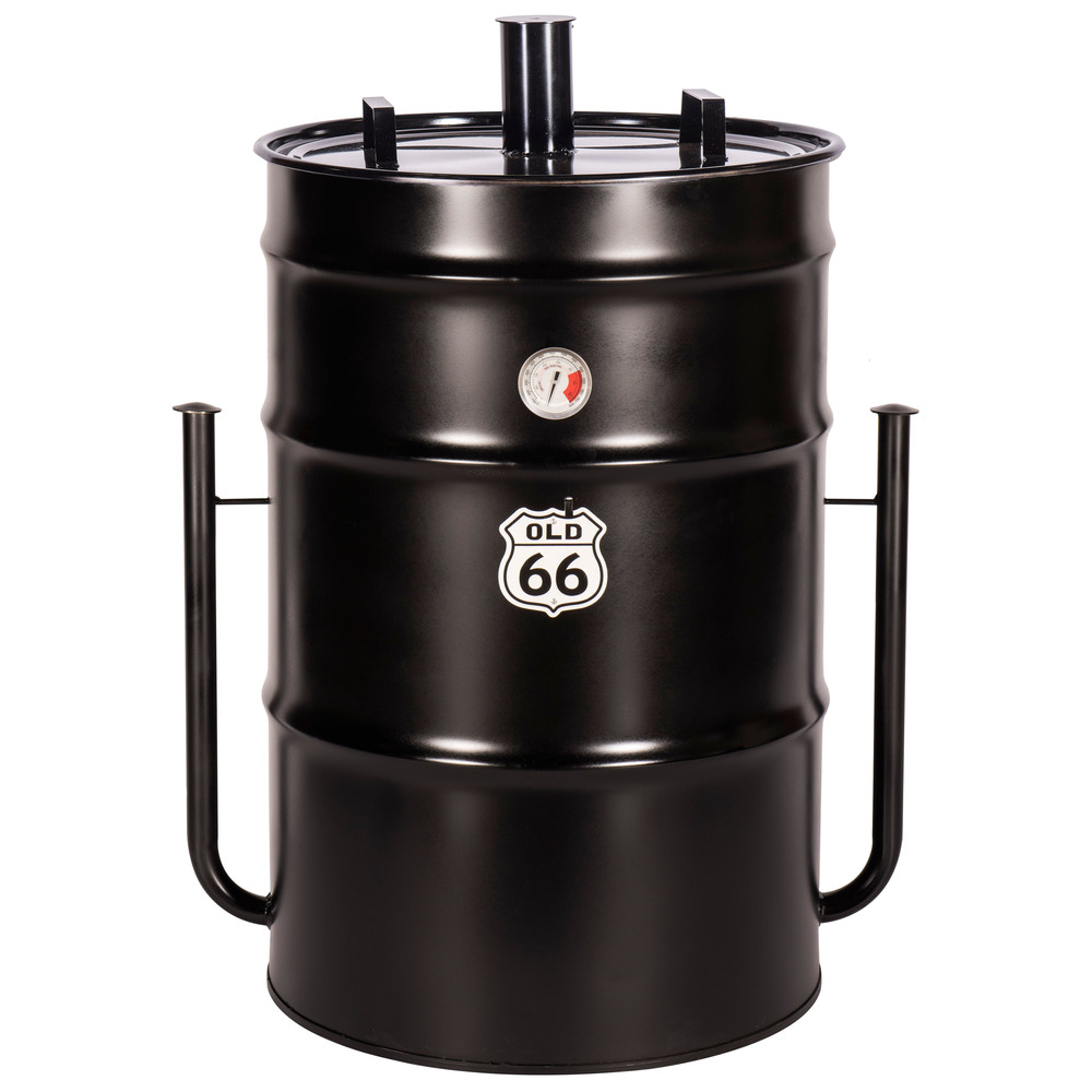 "Old 66 85-Gallon Drum Smoker               40""H x 26""D"