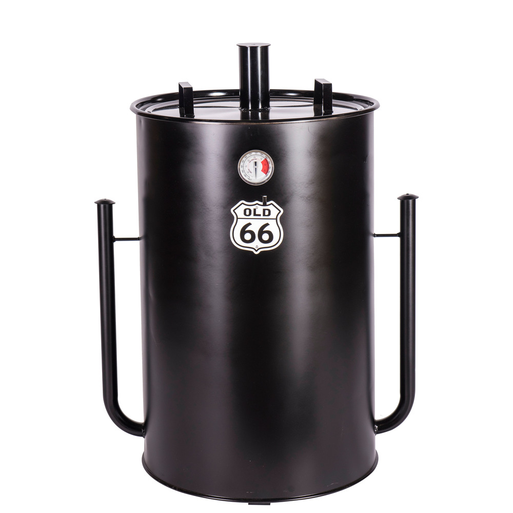 "Old 66 55-Gallon Drum Smoker               35""H x 23.25""D"