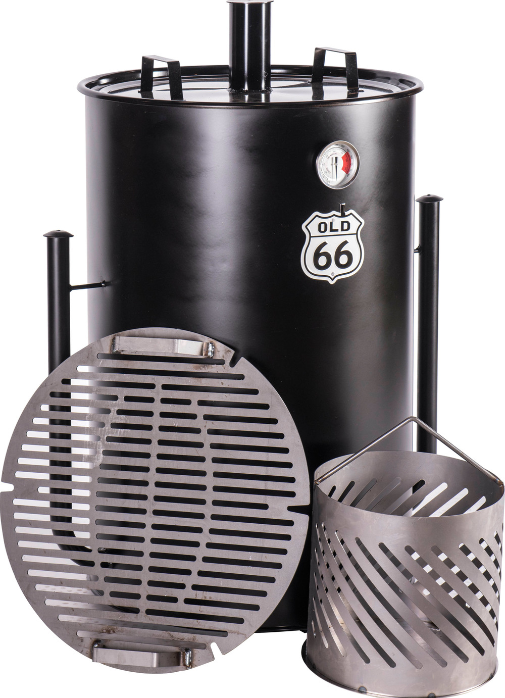 OLD 66 55-Gallon Drum Smoker