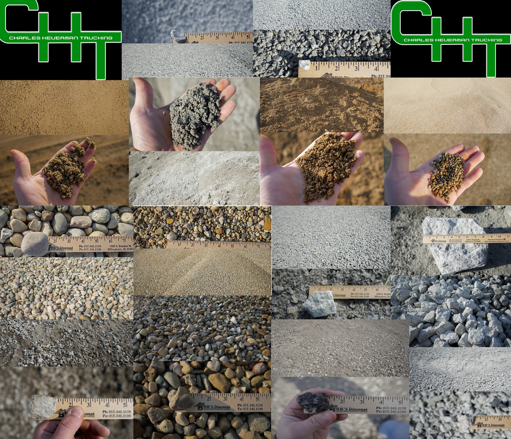 We offer a wide variety of products at our stockpile yard. WE carry almost every product that C&H Gravel and Casey Stone has to offer. From Stone, dirt, sand, and gravel we have it all. At this location we also offer crushed asphalt and crushed concrete.