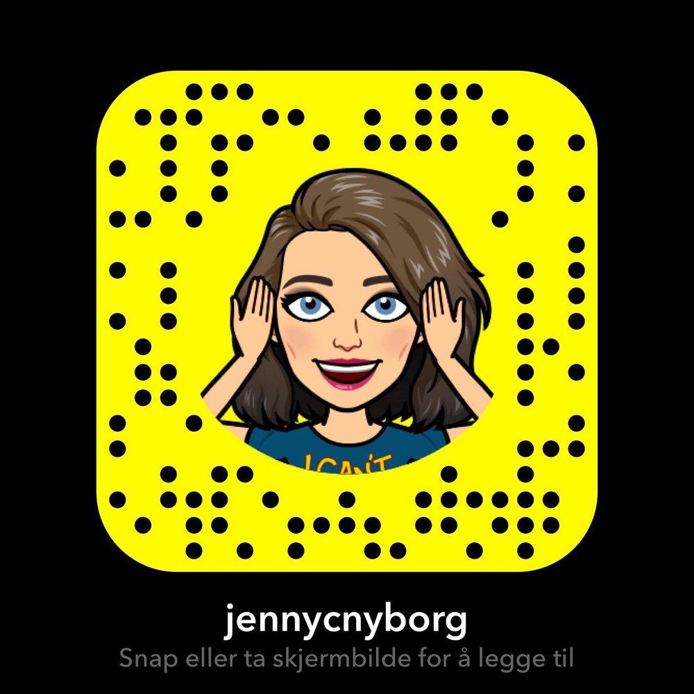 Legg meg gjerne til hvis du ønsker å følge meg daglig!