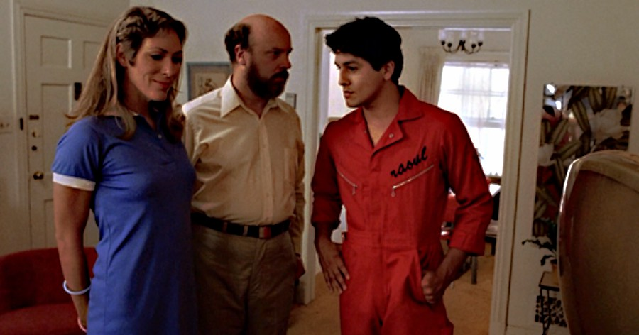 Our main characters Mary (Mary Woronov)  and Paul (Paul Bartel) meet Raoul (Robert Beltran).