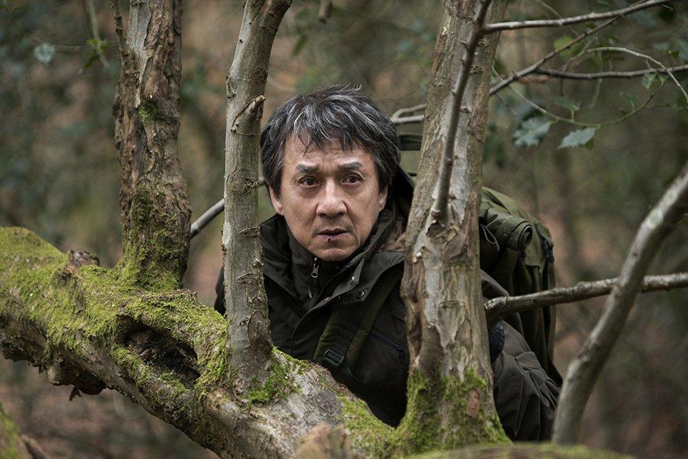 Scary woodsman Jackie Chan.