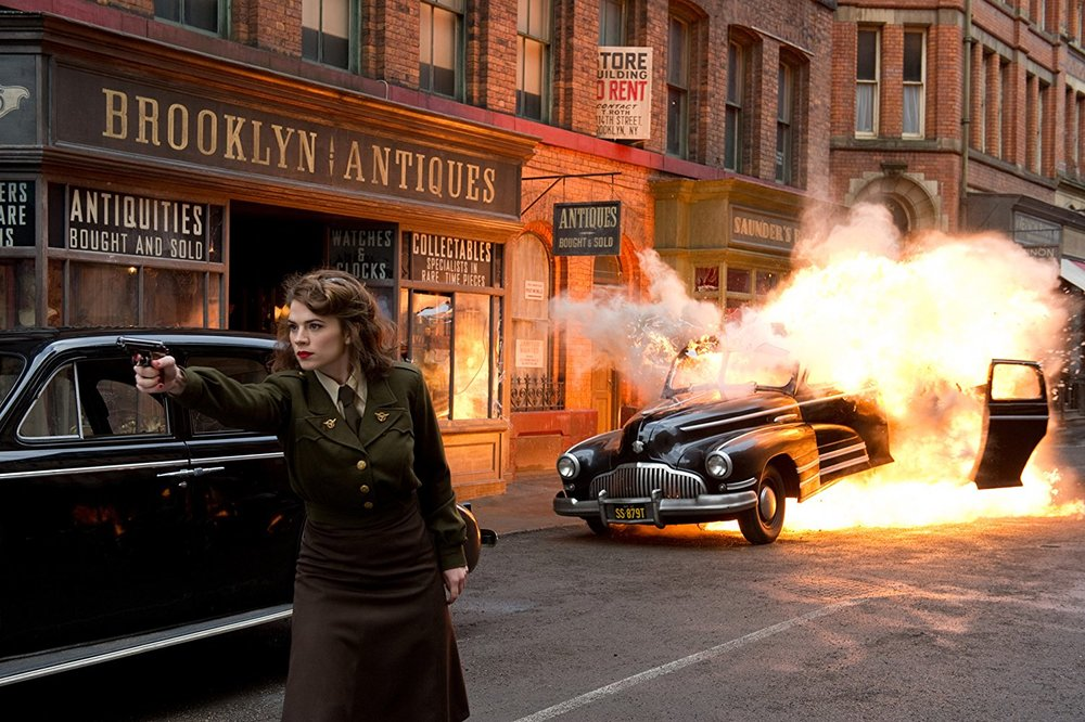 the only MCU movie the heavily showcase Agent Carter should be near the top of all MCU films.
