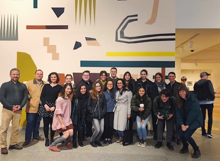 The Harvard Art Museums Student Board & Student Guide Program, 2018. Courtesy of @harvardarthappens.