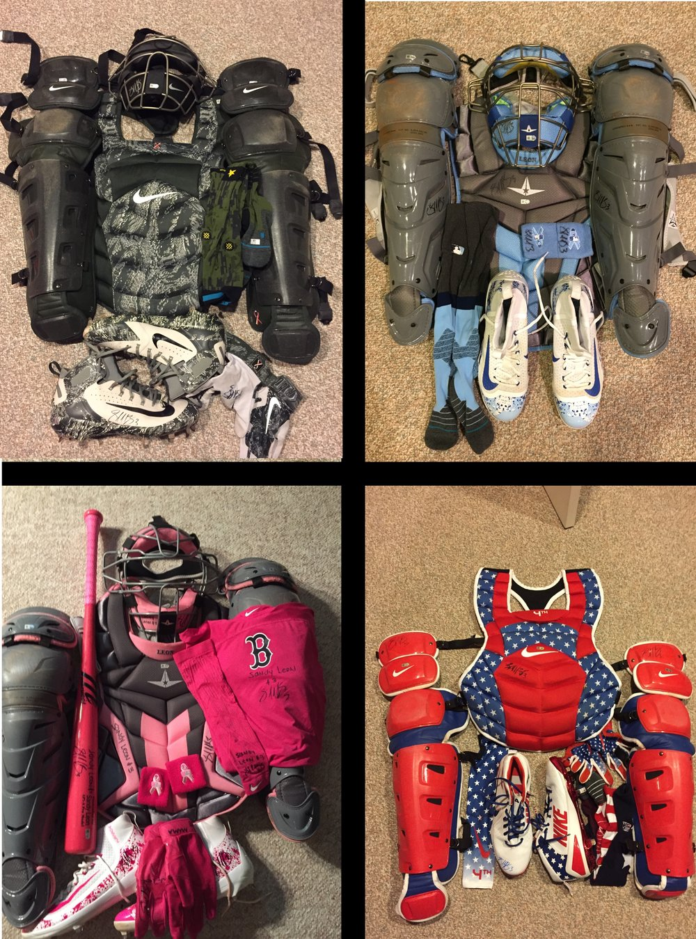 The Catcher's Gear Cycle