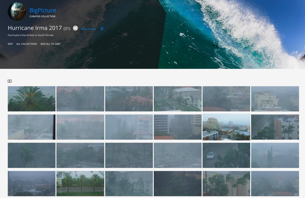 Click the above link for access to Hurricane Irma stock footage collection