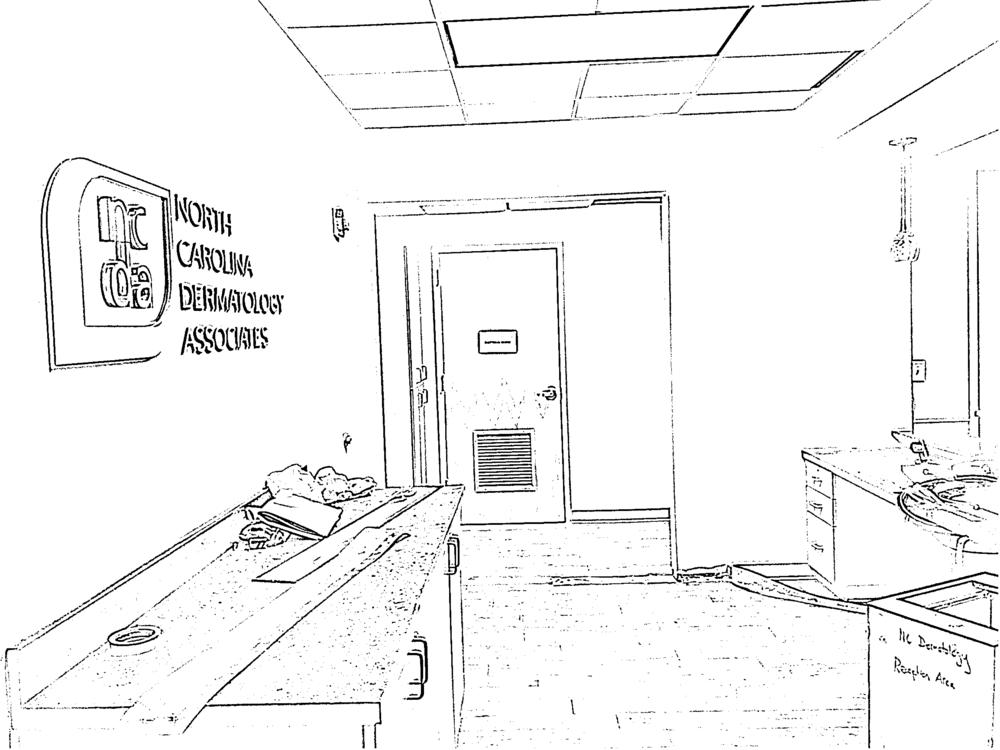 Modifications to Reception Area
