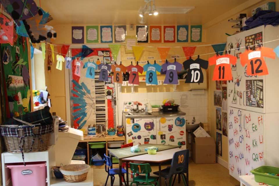 Inside Nursery classroom