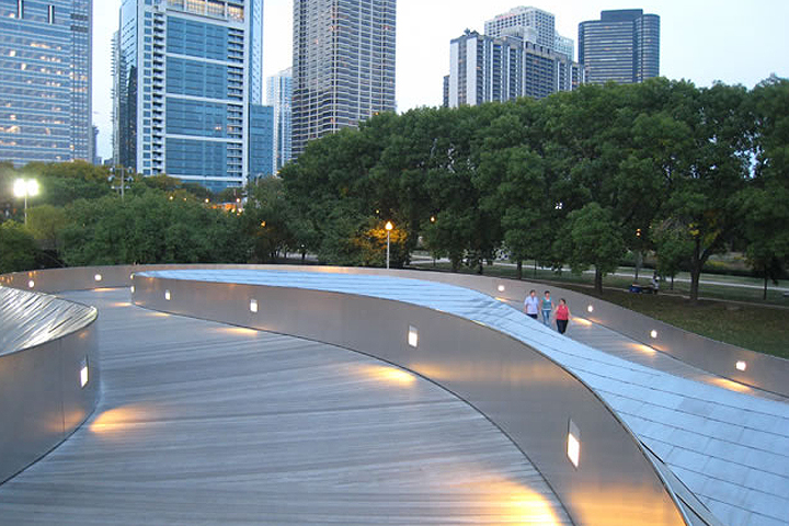 PB pedestrian Bridge - Millennium Park