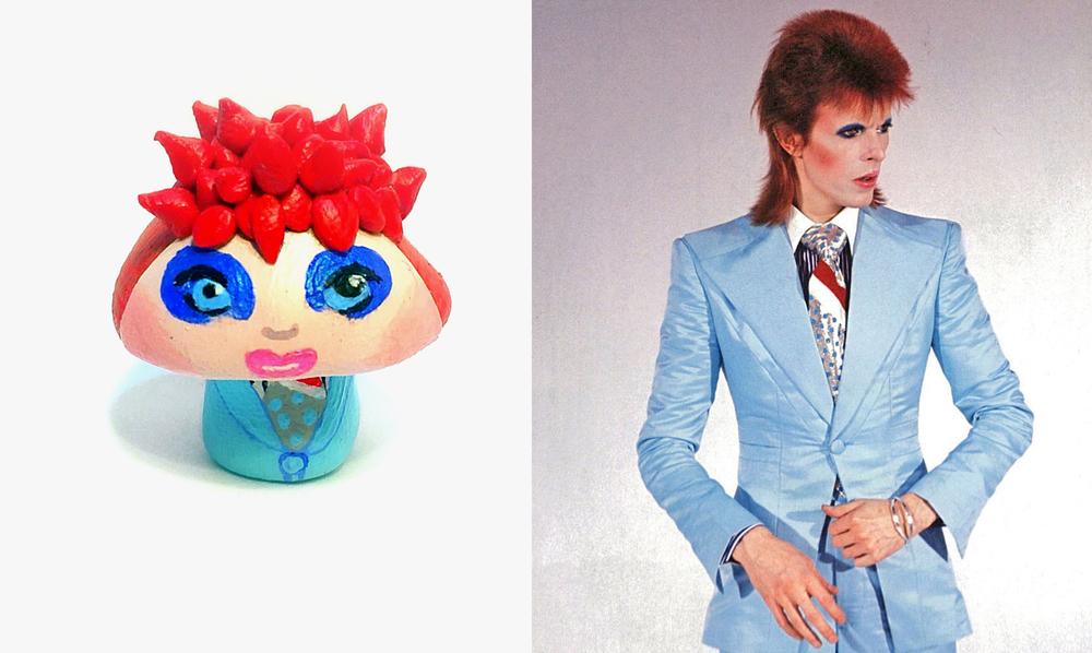 Life On Mars Bowie 'Shroom