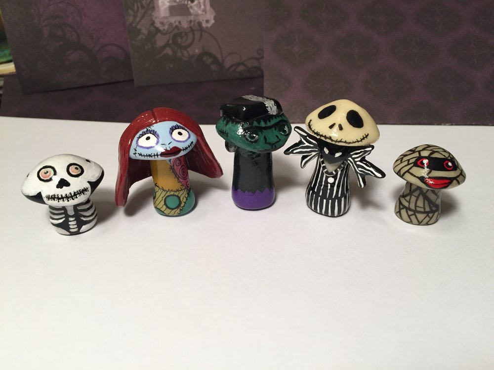 Available this weekend! Jack and Sally are currently custom order requests.