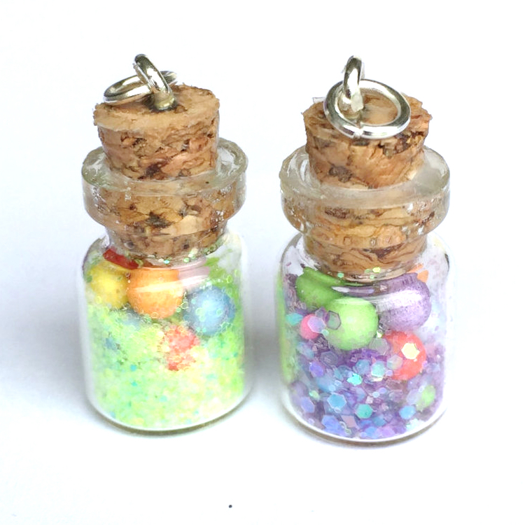 Nerd Fairy Dust Bottle Charms