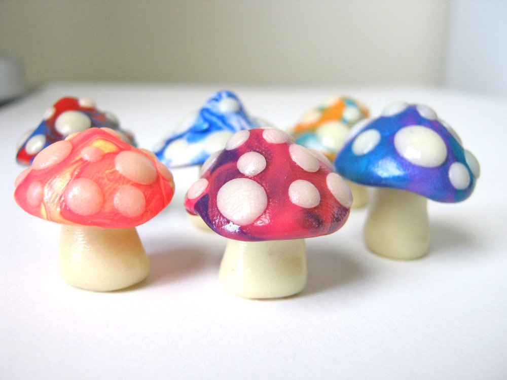 Marbles Mini Glow 'Shrooms