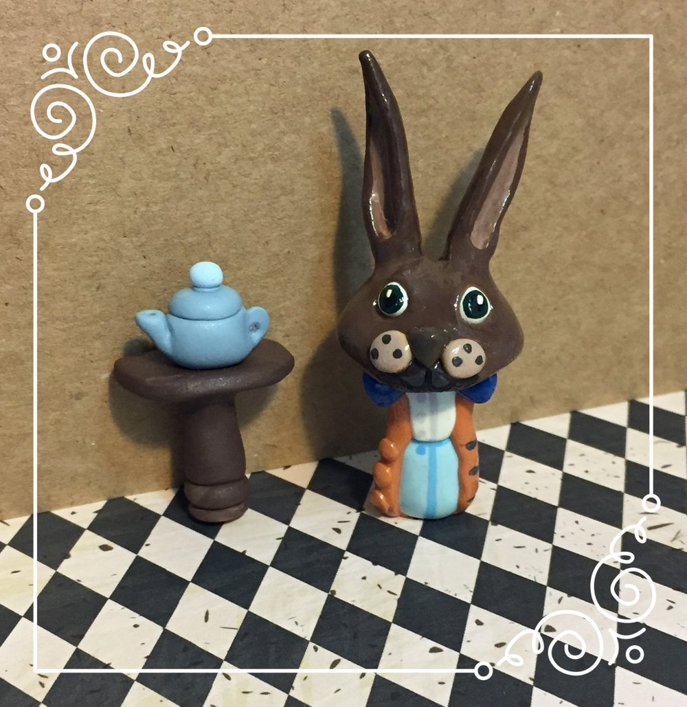 March Hare 'Shroom Sculpture