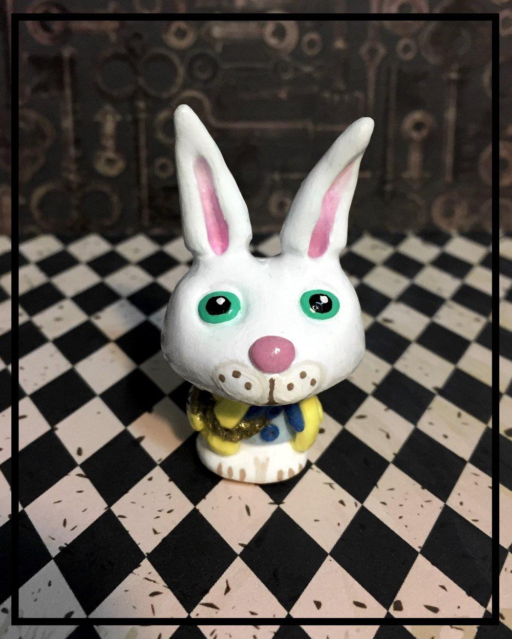 The White Rabbit 'Shroom Sculpture