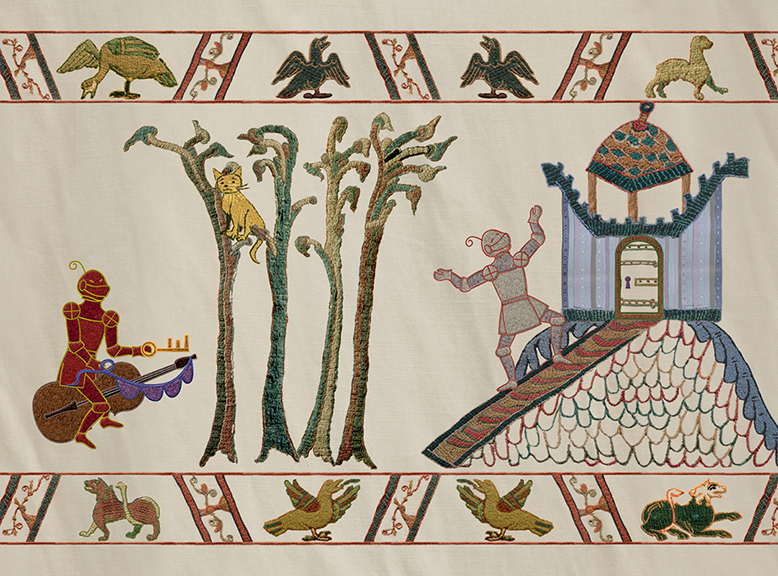 animated Bayeux tapestry